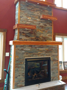 Rubus Woodworks Mantle