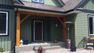 Rubus Woodworks Timber frame accents
